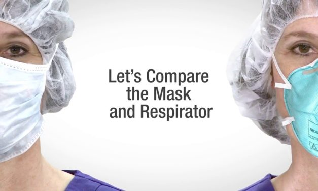 Respirators and Surgical Masks: A Comparison