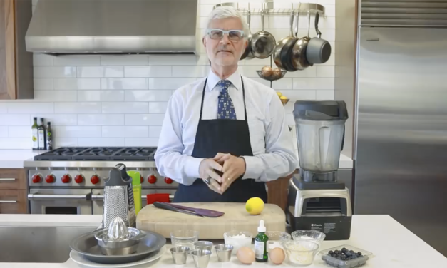 Healthy Blueberry Pancakes Recipe