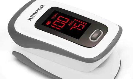 Fingertip Pulse Oximeter = Peace of Mind