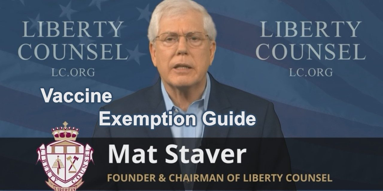 Vaccine Exemption Guide